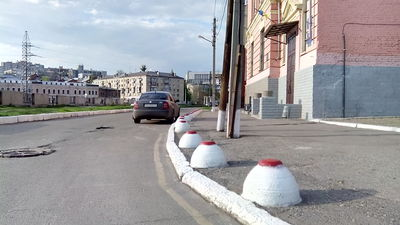 Ограничитель парковки - main